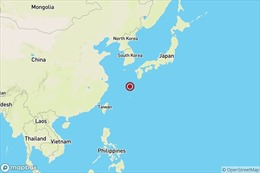 Động đất cường độ 6,1 tại Nhật Bản
