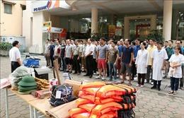 Thông tấn xã Việt Nam diễn tập phòng chống lụt bão năm 2019
