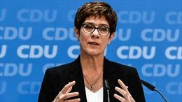 Đức có Bộ trưởng Quốc phòng mới