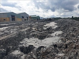 Bồi thường cho người dân do vỡ đập chứa bột đá ở Đắk Nông