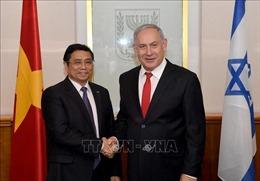 Đồng chí Phạm Minh Chính thăm và làm việc tại Israel