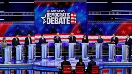 10 ứng cử viên của đảng Dân chủ tranh luận trực tiếp vòng hai trong cuộc đua vào Nhà Trắng