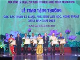 Lễ trao thưởng các tác phẩm lý luận, phê bình văn học, nghệ thuật xuất bản năm 2018
