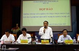 Hệ thống dẫn nước không đảm bảo là nguyên nhân sự cố chạy thận nhân tạo tại Nghệ An