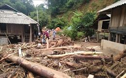 Cận cảnh mưa lũ gây thiệt hại nặng nề tại các huyện miền núi Thanh Hóa