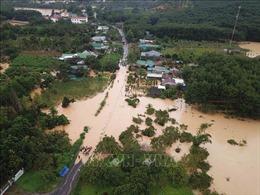 Nhiều địa phương của tỉnh Lâm Đồng chìm trong 'biển nước'
