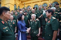 Phó Chủ tịch nước tiếp Ban liên lạc truyền thống Hội Cựu chiến binh Sư đoàn 308