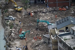 Siêu bão Lekima đổ bộ tỉnh Sơn Đông (Trung Quốc), nhiều người thiệt mạng và mất tích