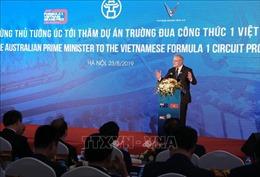 Thủ tướng Australia Scott Morrison ấn tượng về đường đua Công thức 1 Hà Nội