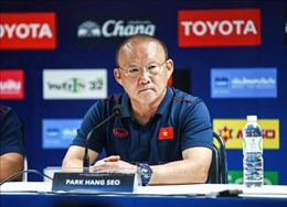 HLV Park Hang-seo khẳng định 'không có gì phải ngại Thái Lan'