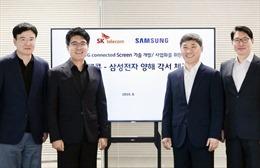 Samsung và SK Telecom hợp tác sản xuất TV 8K sử dụng mạng 5G