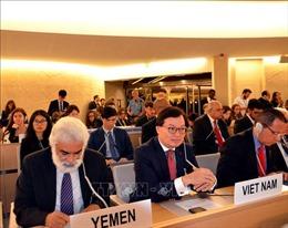 Khóa họp 42 Hội đồng Nhân quyền LHQ tập trung vấn đề biến đổi khí hậu
