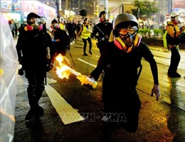 Bắt giữ 157 người biểu tình quá khích trong 3 ngày tại Hong Kong, Trung Quốc