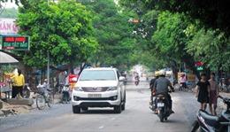 Từ 16 - 20/9, thị xã Nghĩa Lộ cấm xe trên đường Điện Biên và Nguyễn Quang Bích