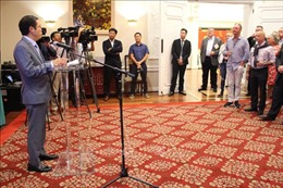 Đại sứ quán Việt Nam tại Mỹ và Viện NFI tổ chức 'Giao lưu Thủy sản và Thương mại'