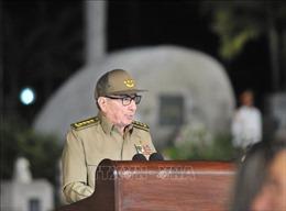 Bí thư thứ nhất Đảng Cộng sản Cuba tiếp Tư lệnh Hải quân Nga