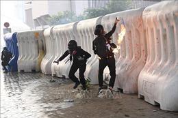 Chính quyền Hong Kong tiếp tục lên án các hành động bạo lực của người biểu tình