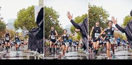 HLV Chí Hùng và Nguyệt Đỗ tham dự giải chạy Berlin Marathon