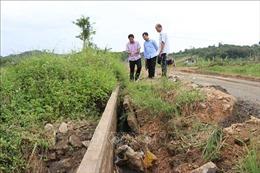 Kênh Chính Nam hư hỏng nặng, nông dân lo thiếu nước vụ Đông Xuân