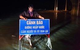 Phú Yên bị ngập úng 70 ha lúa và hoa màu, 72/112 xã bị mất điện do bão số 5