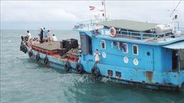 Tiếp nhận, ứng cứu kịp thời tàu thuyền gặp nạn trên biển