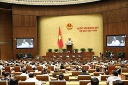 Kỳ họp thứ 8, Quốc hội khóa XIV: Thông cáo báo chí số 12