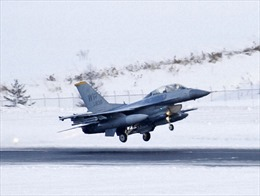 Máy bay F16 của Mỹ 'vô tình' thả bom giả ngoài phạm vi bãi tập ở Nhật Bản
