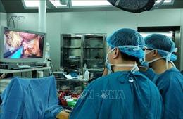 Lần đầu ngành Y miền Trung nội soi cắt gan cho bệnh nhân ung thư
