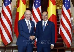 Thủ tướng Nguyễn Xuân Phúc tiếp Bộ trưởng Thương mại Hoa Kỳ
