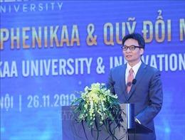 Phó Thủ tướng Vũ Đức Đam: Đại học không chỉ là nơi phổ biến tri thức, mà còn là nơi tạo ra tri thức