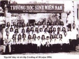 Nhiều hoạt động kỷ niệm 65 năm Trường Học sinh miền Nam trên đất Bắc