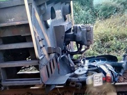 Thiếu quan sát khi qua đường sắt, một người đàn ông tử vong