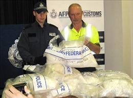 Australiabuộc tội ba đối tượng 'ngụy trang' 38,7 tấn ma túy trong loa thùng