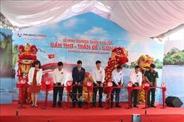 Khai trương tuyến tàu cao tốc Cần Thơ - Trần Đề - Côn Đảo