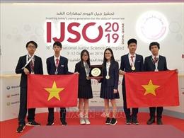 Việt Nam giành 3 HCV, 3 HCB tại Kỳ thi Olympic Khoa học trẻ quốc tế IJSO 2019