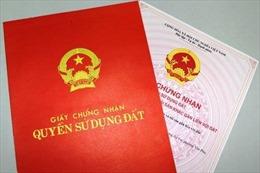 Điều tra vụ tẩy xóa, hợp lệ hồ sơ để được cấp giấy chứng nhận quyền sử dụng đất