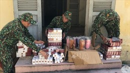 Liên tiếp bắt giữ 2 vụ buôn lậu hàng hóa từ Campuchia về Việt Nam