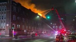 Hàng trăm người mất nơi ở do hỏa hoạn vào ngày Giáng sinhtại Mỹ