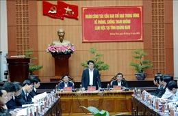 Đại tướng Lương Cường: Triệt tiêu nạn tham nhũng vặt, gây nhũng nhiễu đối với dân