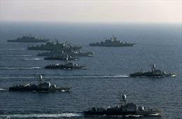Nga, Trung Quốc và Iran tập trận hải quân chung tại Ấn Độ Dương và Vịnh Oman