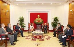 Đoàn đại biểu cấp cao Đảng Liên minh công dân Hungary'thăm Việt Nam