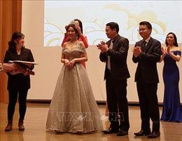 Nữ sinh Đại học Quốc tế Tokyo giành vương miện cuộc thi sắc đẹp Việt Nam tại Nhật Bản