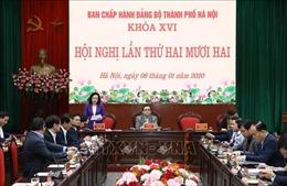 Năm 2020, Thành ủy Hà Nội tập trung thực hiện 9 nhiệm vụ trọng tâm