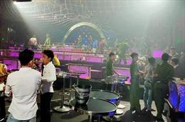 'Đột kích' quán bar ở Trảng Bom, phát hiện nhiều đối tượng dương tính ma túy