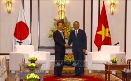 Bí thư Thành ủy Đà Nẵng làm việc với đoàn công tác Đảng dân chủ tự do Nhật Bản