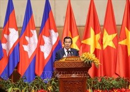 Thủ tướng Campuchia tham dự Chương trình 'đón Tết cổ truyền 2020' cùng cộng đồng người Việt Nam