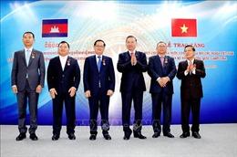 Đoàn đại biểu cấp cao Bộ Công an hội đàm với Bộ Nội vụ Vương quốc Campuchia