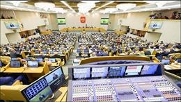 Duma Quốc gia Nga họp toàn thể xem xét sửa đổi Hiến pháp