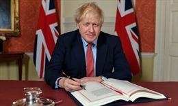 Thủ tướng Anh ca ngợi việc ký thỏa thuận Brexit
