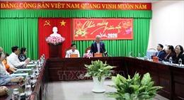 Phó Chủ tịch Quốc hội Uông Chu Lưu thăm, làm việc tại tỉnh Sóc Trăng